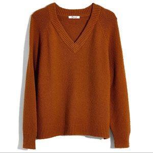 Madewell Arden V-Neck Pullover Sweater